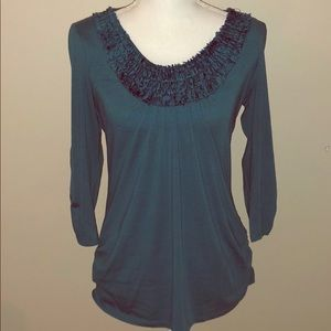 Adorable teal Maurices top